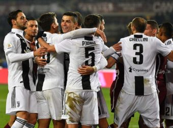 Cristiano Ronaldo scores Juventus winner in Turin derby (video)