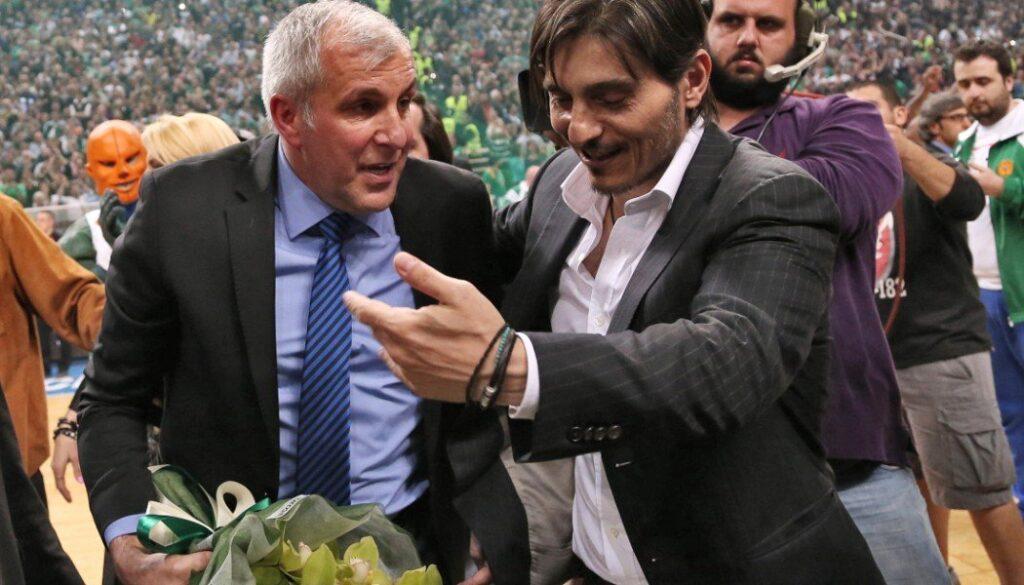 Έκλεισαν… στόματα! Δίπλα δίπλα Δημήτρης Γιαννακόπουλος και Ομπράντοβιτς (ΦΩΤΟ)
